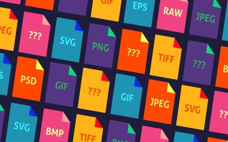 ¿Cómo distinguir los tipos de archivo por su extensión?