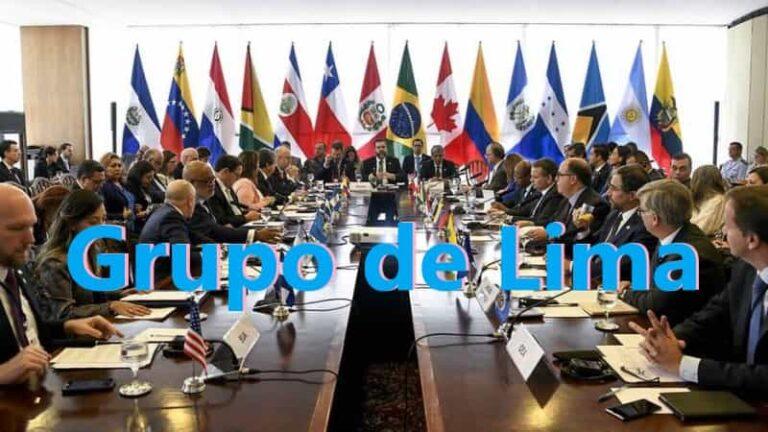 ¿Qué es el Grupo de Lima?
