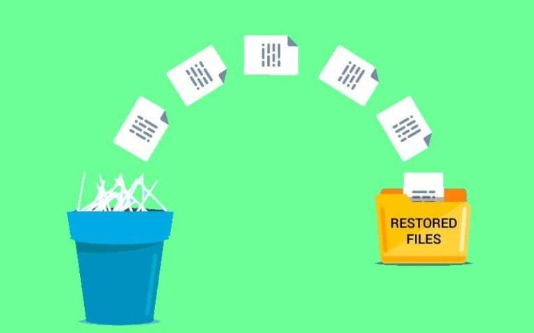 ¿Cómo recuperar un archivo borrado o eliminado?