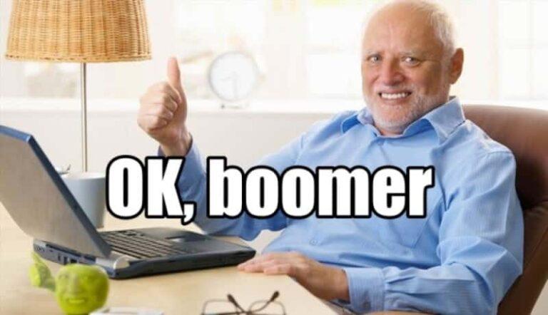 ¿Qué significa «Ok Boomer»?